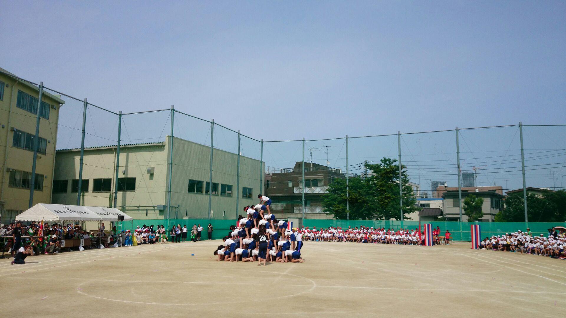 小学生最後の運動会・・・